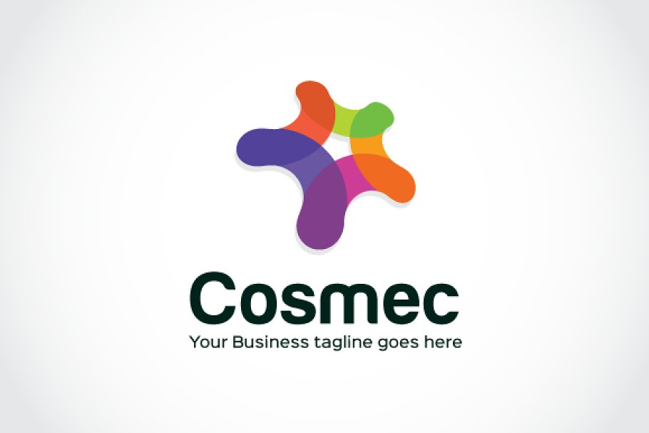 Cosmec Logo Template in Logo Templates - product preview 8