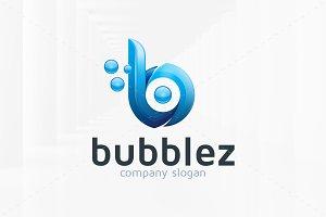 Bubblez - Letter B Logo