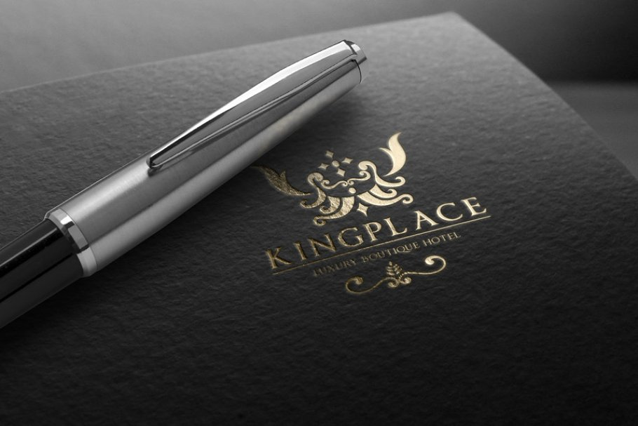 Boutique Hotel in Logo Templates - product preview 8