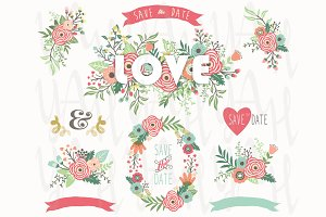 Flower Love Wreath Collections
