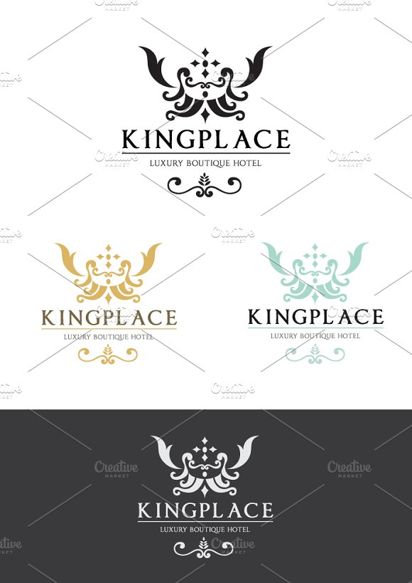 Boutique Hotel in Logo Templates - product preview 3