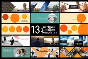 Facebook Timeline Cover Templates 01
