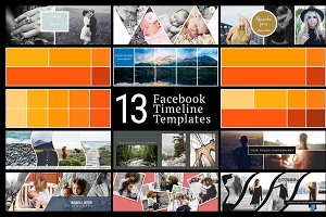 Facebook Timeline Cover Templates 02