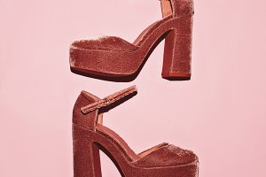 Heel shoes. Trend. Style.