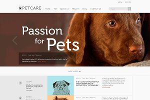 PetCare - Blog & Magazine Template