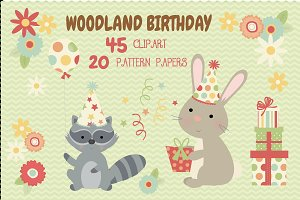 Woodland Birthday Bundle