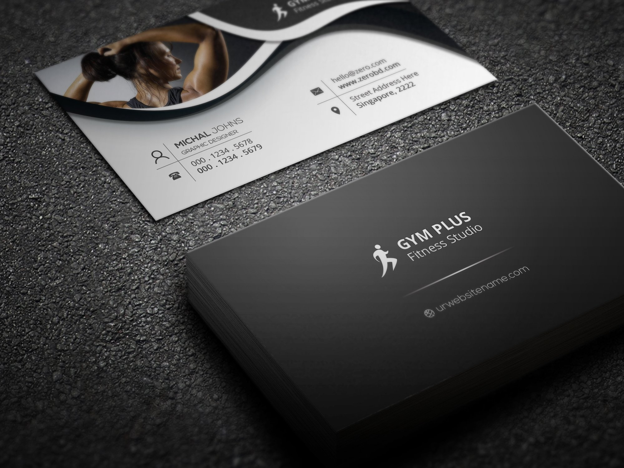New Collection Of Fitness Business Cards - Business Cards and ...