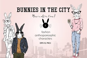 Bunnies in the city
