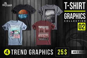 Tee shirts trend graphics