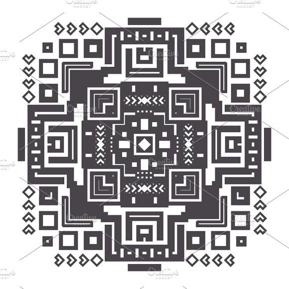Decorative Geometric Ethnic