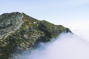 Fog mountain, Madeira