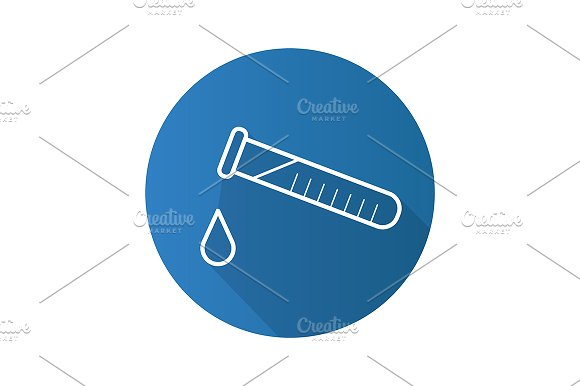 Chemical Experiment Icon Vector