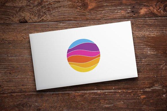 Color Wave Logo