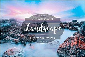 Professional Landscape Lr Presets