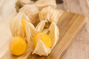 Collection of Cape Gooseberry