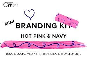 Branding Kit: Hot Pink & Navy