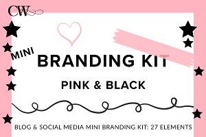 Branding Kit - Pink & Black