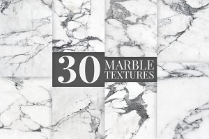 30 Hi-Res Marble Background Textures