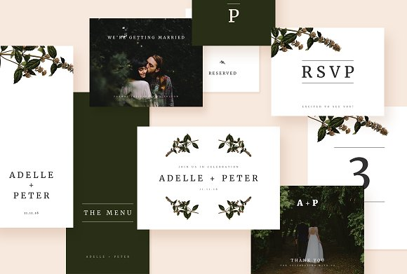 Simply Modern Wedding Suite