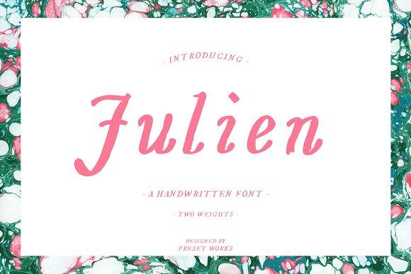 Julien Handwritten Font