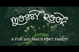 Mossy Rock fun font family!