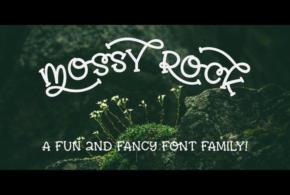 Mossy Rock Fun Font Family