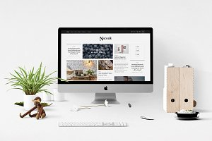 Norwalk - Magazine-Styled Blog