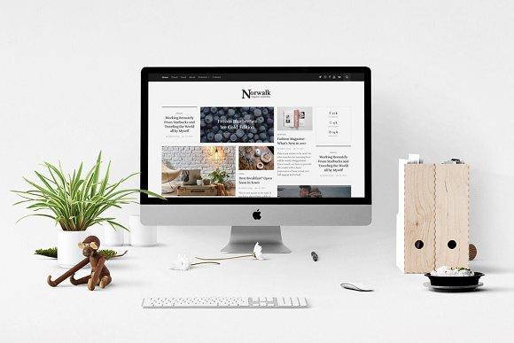 Norwalk Magazine-Styled Blog