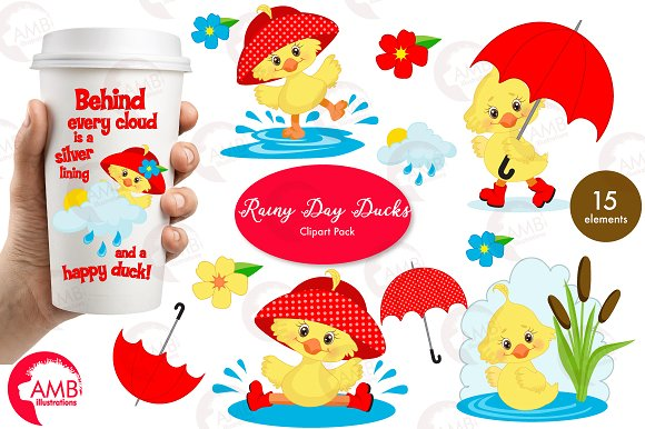 Rainy Day Ducks-1823