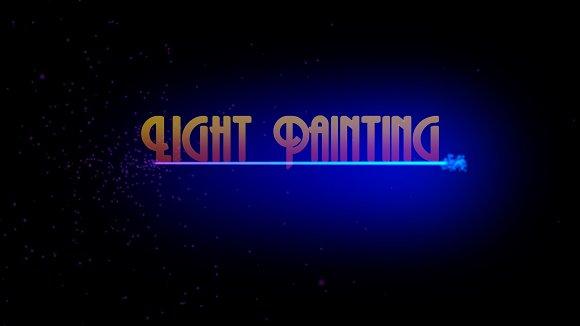 Light Painting Generator
