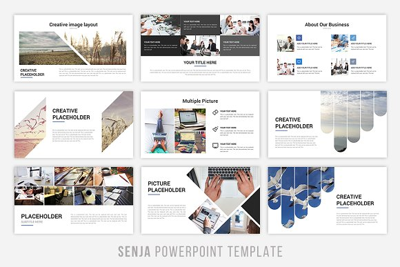 Senja powerpoint template presentation templates creative market toneelgroepblik Image collections