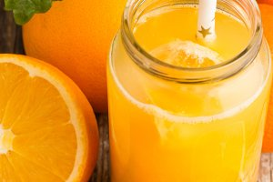 orange juice and citrus