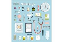 Medicine Objects and Medicament Set