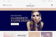 Jewelry Responsive OpenCart Theme by  in OpenCart