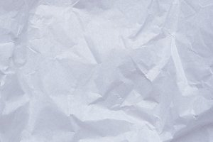 Paper crumpled page