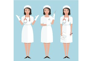 Woman Nurse or Doctor