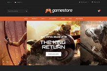 GameStore Responsive OpenCart  Theme by  in OpenCart