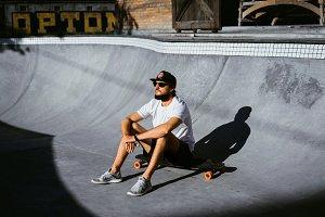 Skateboarding time