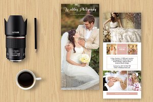 Photographer Rack Card-V522