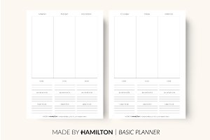 Weekly Happiness Printable Planner