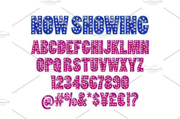 Cinema Alphabet Vector Batch 5