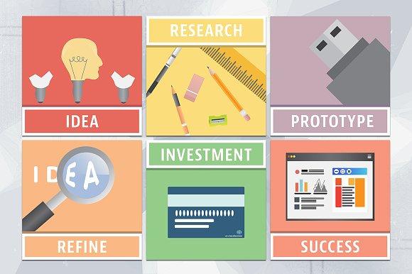 Risk Management Social Media Vector