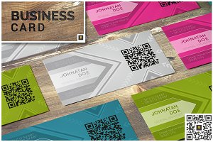 Arrow Corporate Business Card