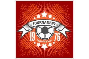 Vector Football emblem.
