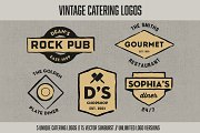Vintage Catering Logos