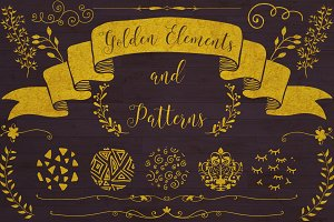 Golden Elements + 20 Patterns