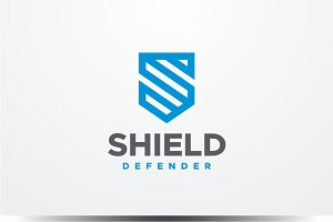 Shield - Letter S Logo