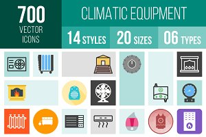 700 Climatic Equipment Icons
