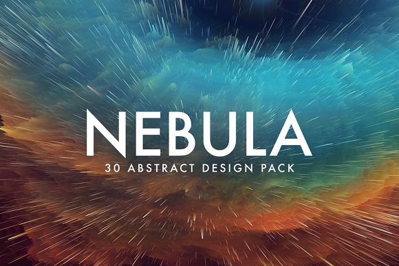 Nebula 30 Abstract Design Pack
