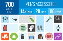 700 Men's Accessories Icons